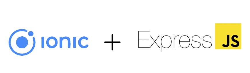 ionic+expressjs